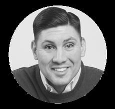 Paul Argueta Black & White Headshot