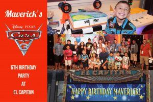 Maverick's 6th Birthday Cars 3 El Capitan Theater Best Real Estate Agent in Los Angeles Best Realtor in Los Angeles Celebrity Real Estate Agent Sports Real Estate Agent