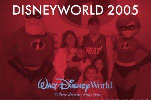 Disneyworld Argueta Family Vacation 2005 Photo Gallery