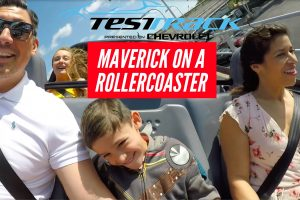 Maverick's Brave Face on Test Track Disneyworld Epcot