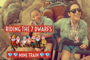 Ariel Argueta Bryannah Argueta on Seven Dwarfs Mine Rid Magical Kingdom in Disney World Spring Break 2018 Best Real Estate Agent in Los Angeles Best Realtor in Los Angeles