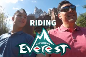 Paul Sr Paul Jr on Expedition Everest in Disney World Spring Break 2018 Best Real Estate Agent in Los Angeles Best Realtor in Los Angeles Celebrity Real Estate Agent Sports Star Real Estate Agent