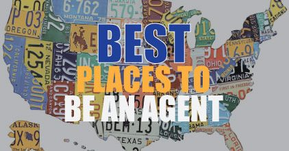 2017's Best Places to Be a Real-Estate Agent