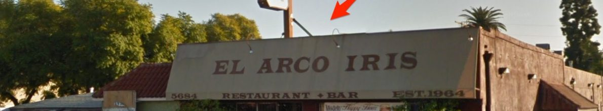 Highland Park Legendary Restaurant El Arco Iris is now a French/Filipino Restaurant