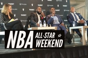 Thuzio NBA All Star Weekend Caron Butler Roger Mason Baron Davis Pro Athlete Relocation TalkToPaul