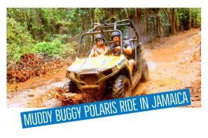 Muddy Buggy Polaris Ride in Jamaica