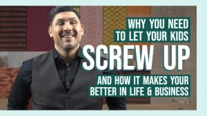 "I am going to share with you why you need to stop telling your kids (or team if you don't have children) to ""Stop screwing up!"" and why letting them make mistakes makes them better and makes you a better leader at home and in the office."