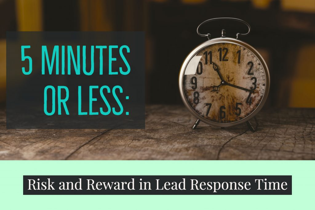 5 Minutes or Less_ Risk and Reward in Lead Response Time (1)